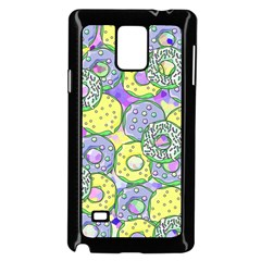 Donuts Pattern Samsung Galaxy Note 4 Case (black)