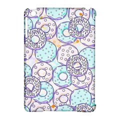 Donuts Pattern Apple Ipad Mini Hardshell Case (compatible With Smart Cover)