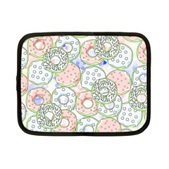 Donuts Pattern Netbook Case (small)