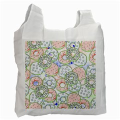 Donuts Pattern Recycle Bag (one Side)