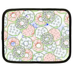 Donuts Pattern Netbook Case (xl)