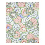 Donuts pattern Shower Curtain 60  x 72  (Medium)  54.25 x65.71 Curtain
