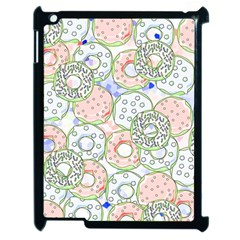 Donuts Pattern Apple Ipad 2 Case (black)