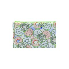 Donuts Pattern Cosmetic Bag (xs)