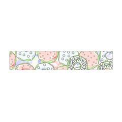 Donuts Pattern Flano Scarf (mini)