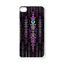 Rainbow Asteroid Pearls In The Wonderful Atmosphere Apple Iphone 4 Case (white)