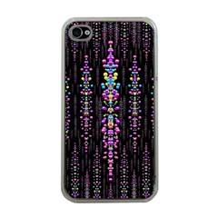 Rainbow Asteroid Pearls In The Wonderful Atmosphere Apple Iphone 4 Case (clear)
