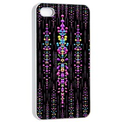 Rainbow Asteroid Pearls In The Wonderful Atmosphere Apple Iphone 4/4s Seamless Case (white)