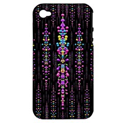 Rainbow Asteroid Pearls In The Wonderful Atmosphere Apple Iphone 4/4s Hardshell Case (pc+silicone)
