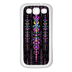 Rainbow Asteroid Pearls In The Wonderful Atmosphere Samsung Galaxy S3 Back Case (white)
