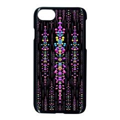 Rainbow Asteroid Pearls In The Wonderful Atmosphere Apple Iphone 7 Seamless Case (black)