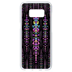 Rainbow Asteroid Pearls In The Wonderful Atmosphere Samsung Galaxy S8 White Seamless Case