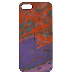 Purple Rain Img 1744 Apple Iphone 5 Hardshell Case With Stand