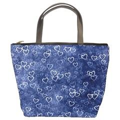 Heart Pattern Bucket Bags