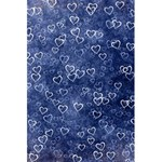 Heart pattern 5.5  x 8.5  Notebooks Back Cover