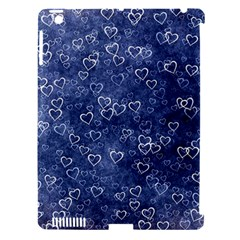 Heart Pattern Apple Ipad 3/4 Hardshell Case (compatible With Smart Cover)