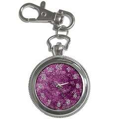 Heart Pattern Key Chain Watches