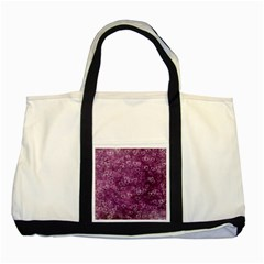 Heart Pattern Two Tone Tote Bag