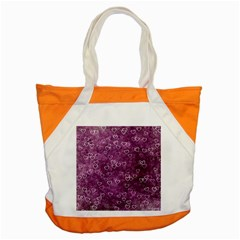 Heart Pattern Accent Tote Bag