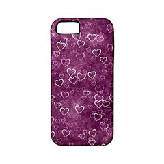 Heart Pattern Apple Iphone 5 Classic Hardshell Case (pc+silicone)