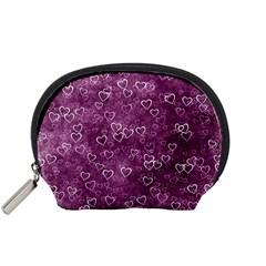 Heart Pattern Accessory Pouches (small)
