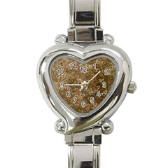 Heart Pattern Heart Italian Charm Watch