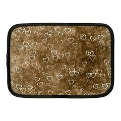 Heart Pattern Netbook Case (medium)