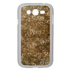 Heart Pattern Samsung Galaxy Grand Duos I9082 Case (white)