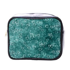 Heart Pattern Mini Toiletries Bags