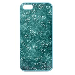 Heart Pattern Apple Seamless Iphone 5 Case (color)