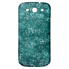 Heart Pattern Samsung Galaxy S3 S Iii Classic Hardshell Back Case