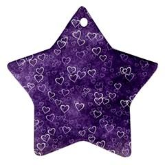 Heart Pattern Ornament (star)