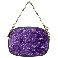 Heart Pattern Chain Purses (two Sides)