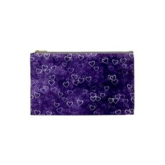 Heart Pattern Cosmetic Bag (small)