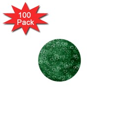 Heart Pattern 1  Mini Buttons (100 Pack)