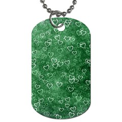 Heart Pattern Dog Tag (two Sides)