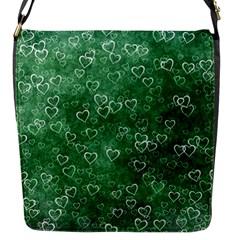 Heart Pattern Flap Messenger Bag (s)