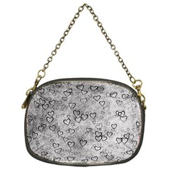 Heart Pattern Chain Purses (one Side)