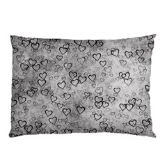 Heart Pattern Pillow Case (two Sides)