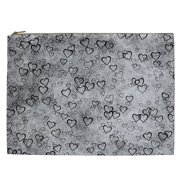 Heart pattern Cosmetic Bag (XXL)
