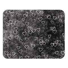 Heart Pattern Double Sided Flano Blanket (large)