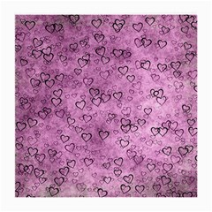 Heart Pattern Medium Glasses Cloth (2 Side)