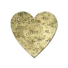 Heart Pattern Heart Magnet