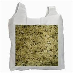 Heart Pattern Recycle Bag (one Side)
