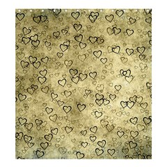 Heart Pattern Shower Curtain 66  X 72  (large)