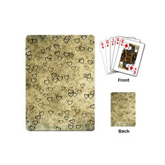 Heart Pattern Playing Cards (mini)