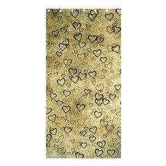 Heart Pattern Shower Curtain 36  X 72  (stall)