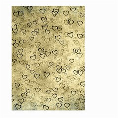 Heart Pattern Large Garden Flag (two Sides)