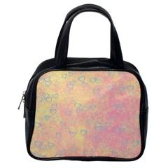 Heart Pattern Classic Handbags (one Side)
