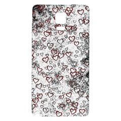 Heart Pattern Galaxy Note 4 Back Case